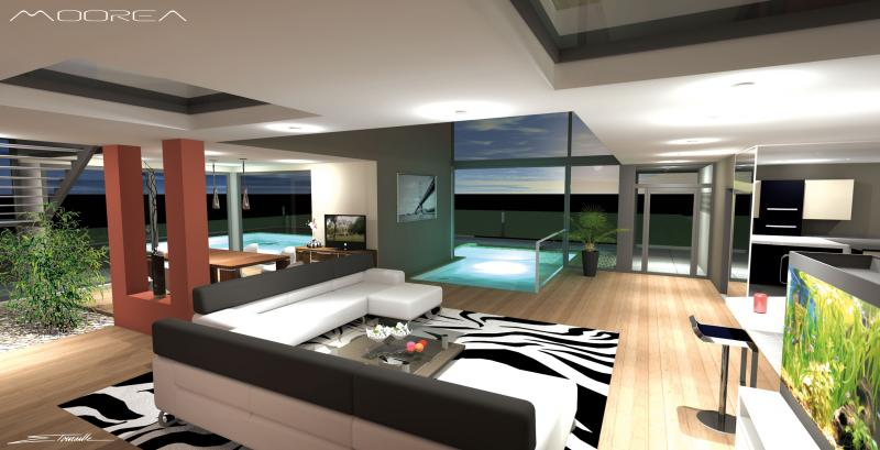 Abvent 3d architecture design for Maison decoration interieur moderne villas