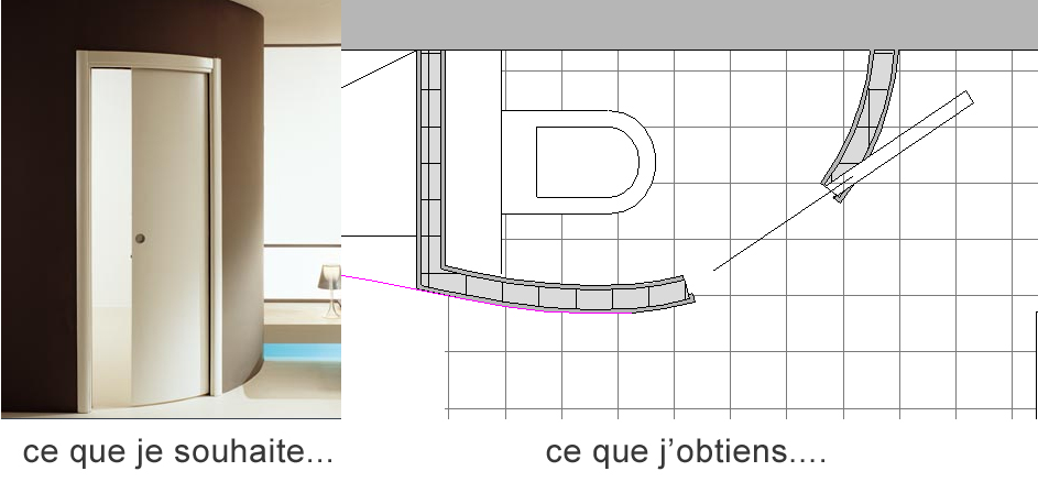 Abvent 3d architecture design for Installation porte coulissante dans le mur