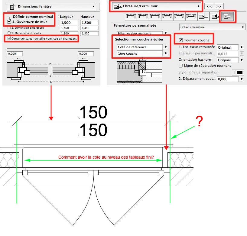 Abvent 3d architecture design for Taille fenetre velux