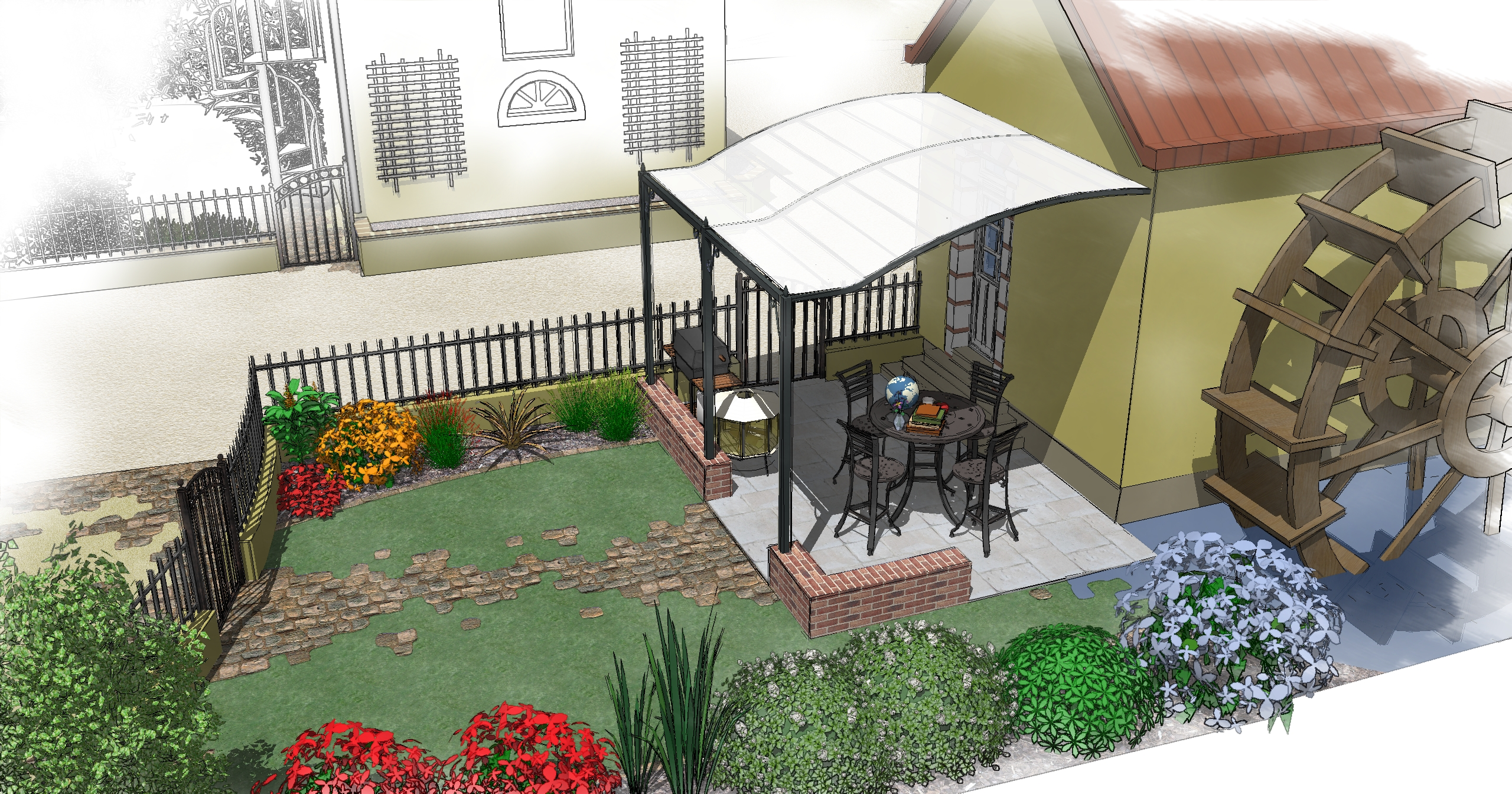 Abvent 3d architecture design for 3d jardin paysagisme mac