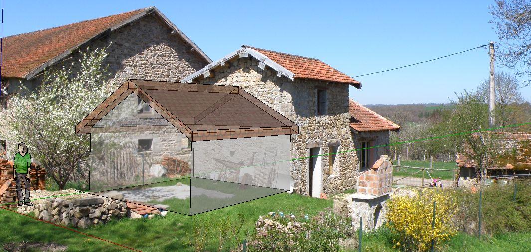 Abvent 3d architecture design for Modele maison sketchup